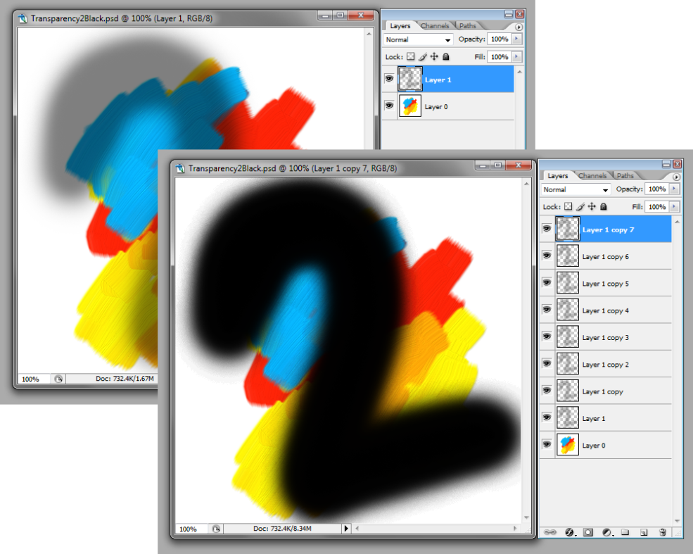 Adobe Photoshop Remove Transparency From Semitransparent Pixel